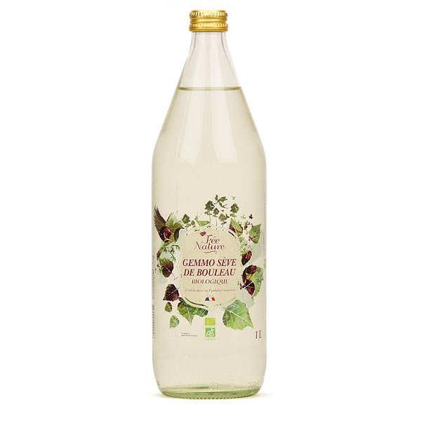 Fée Nature Sève de bouleau bio des Pyrénées aux bourgeons de cassis - Lot de 3 bouteilles 1L