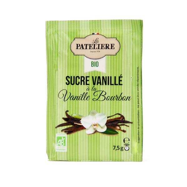 La Patelière bio Sucre naturel vanillé bio - 8 sachets de 7.5g