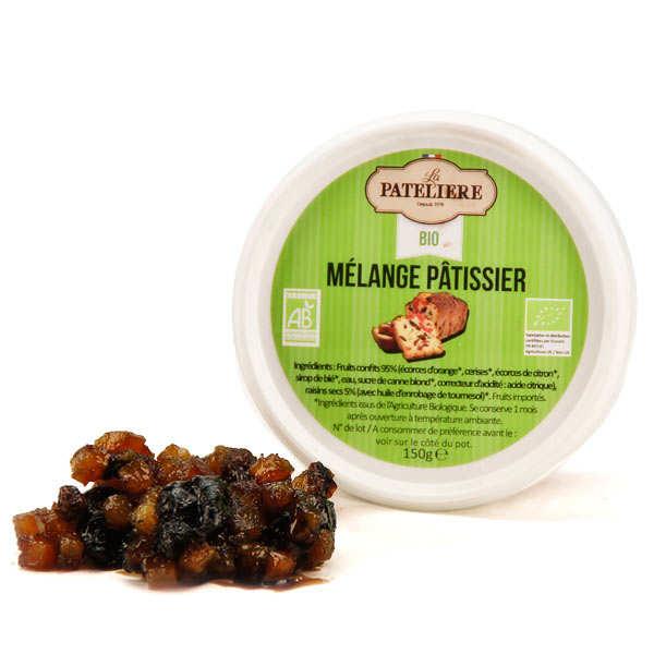 La Patelière bio Mélange de fruits confits bio - Pot 150g