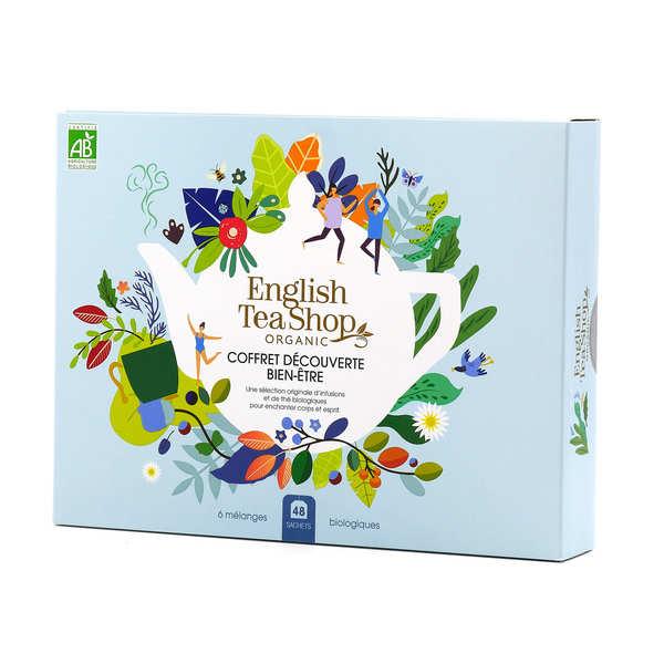 English Tea Shop Coffret d'infusions bio bien-être - 48 sachets 6 parfums - Le coffret 48 sachets - 6 parfums