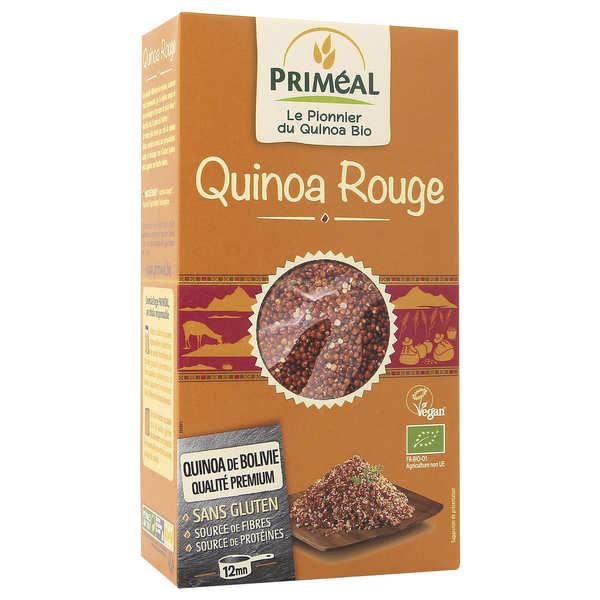 Priméal Quinoa rouge bio - Sachet 500g