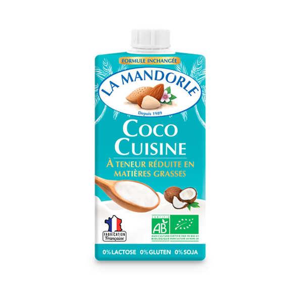 La Mandorle Coco cuisine - bio (alternative à la crème fraîche) - Brique 25cl