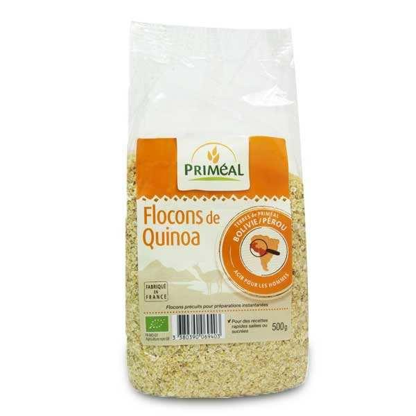 Priméal Flocons de quinoa bio - 3 sachets de 500g