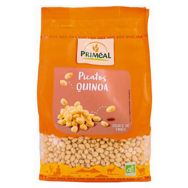 Priméal Picatos bio - Grains croustillants au Quinoa enrobés de Miel - Paquet 200g