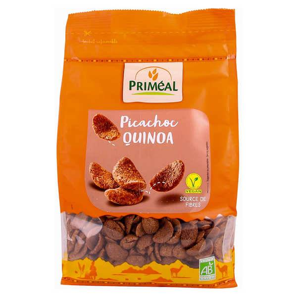 Priméal Picachoc bio - Pétales croustillantes cacao et quinoa - Lot de 3 paquets 300g