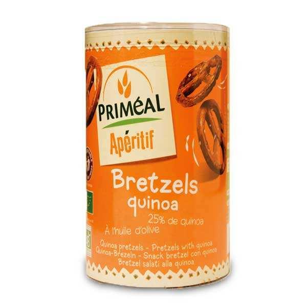 Priméal Bretzels bio au quinoa - Sachet 200g