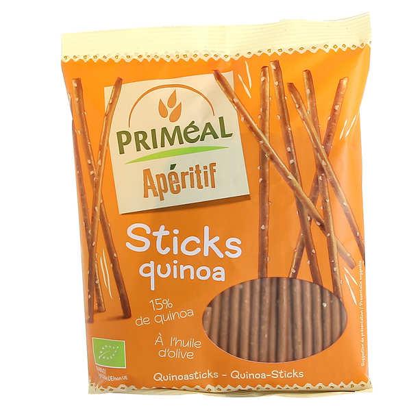 Priméal Sticks bio au quinoa - Paquet 100g