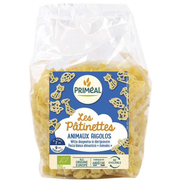Priméal Les Pâtinettes animaux rigolos - pâtes bio - 3 sachets de 250g