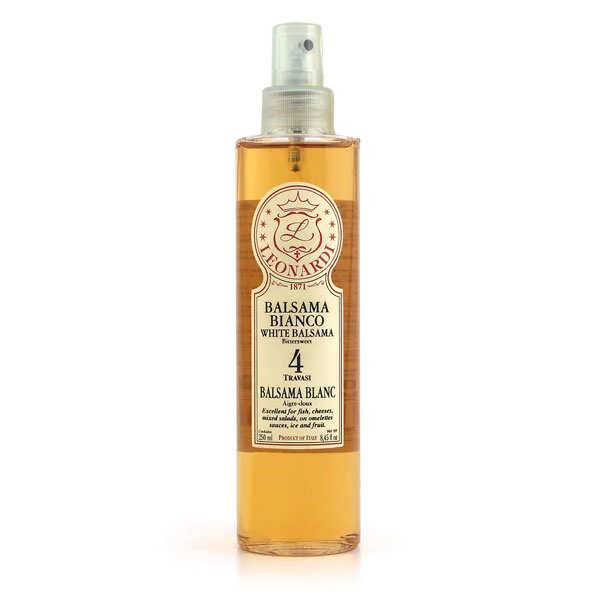 Vinaigrerie Leonardi Balsama - Vinaigre balsamique blanc 4 ans en spray - Bouteille 250 ml