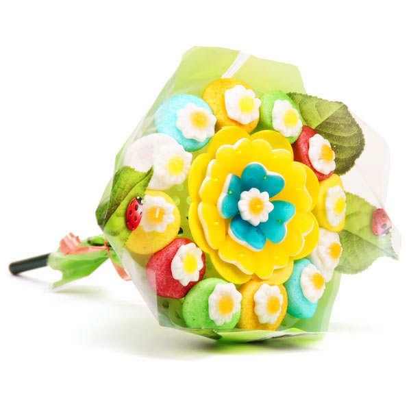 Bonbec Show Bouquet de bonbons fleurs gourmandes - Le bouquet  270g