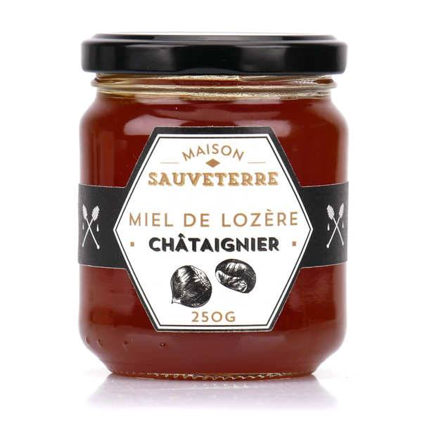 Maison Sauveterre Miel de châtaignier de Lozère - Pot 250g