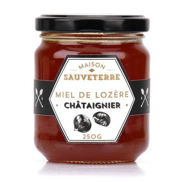 Maison Sauveterre Miel de châtaignier de Lozère - Lot 3 pots de 500g