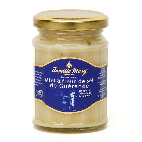 Famille Mary Miel et fleur de sel de Guérande - Pot 230g