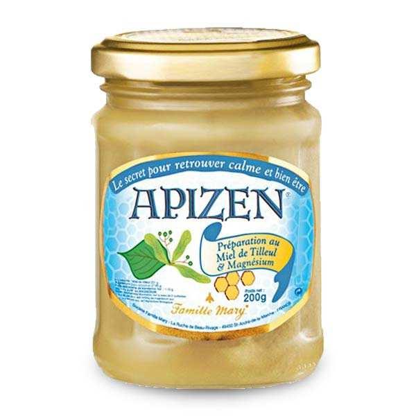Famille Mary Apizen - miel, magnésium et huile essentielle - Pot 200g