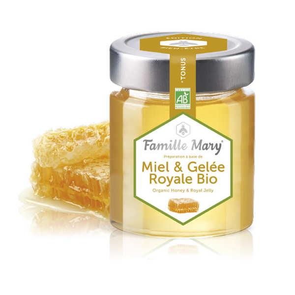 Famille Mary Miel et gelée royale bio - Pot 170g