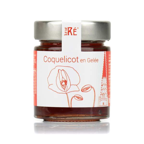 Les Confitures du Clocher Gelée de coquelicot - Pot 165g