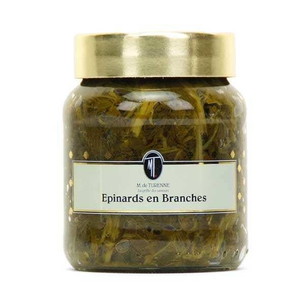 M. de Turenne Epinards en branches - Lot 6 bocaux 37cl