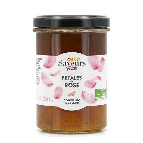 Saveurs Attitudes Confit de pétales de rose bio - Pot 250g