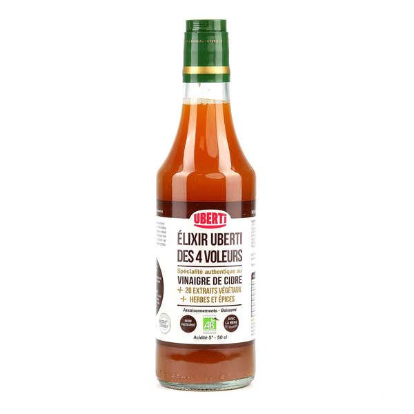 Mondial Uberti Vinaigre des 4 voleurs bio au vinaigre spécial uberti - Lot 3 bouteilles de 50cl