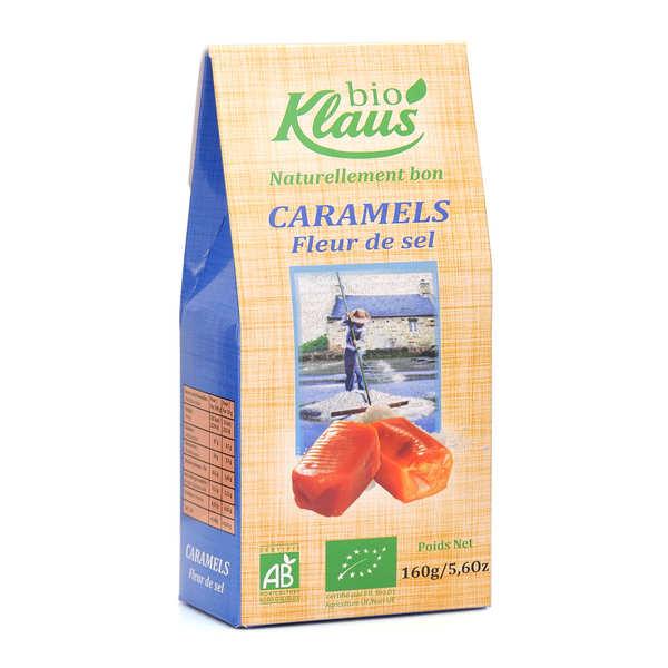 Klaus Caramels au beurre salé bio - Etui 160g