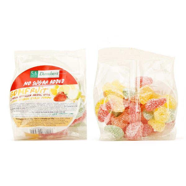 Damhert Bonbons gomfruit sans sucre - 3 sachets de 100g