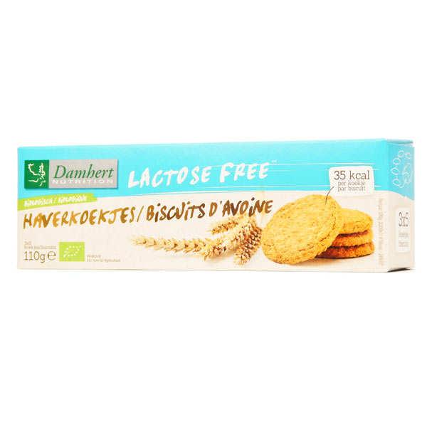 Damhert Biscuits à l'avoine bio sans lactose - Paquet 110g