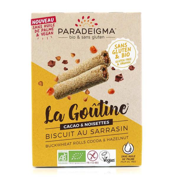 Paradeigma Goûtines chocolat noisettes bio sans gluten - Paquet 125g