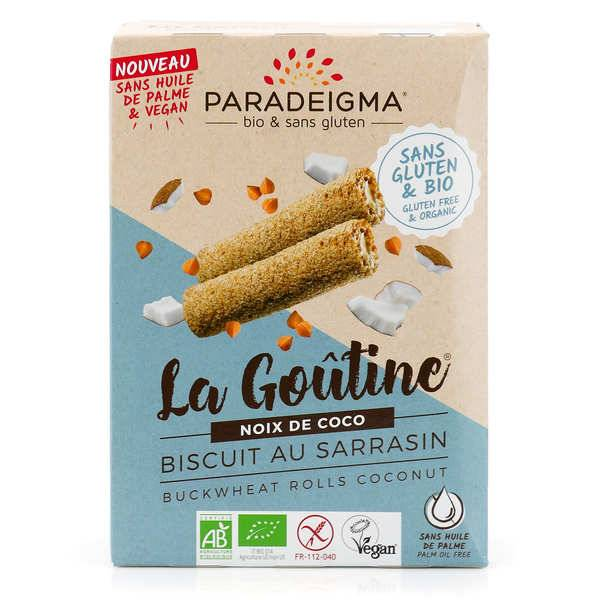 Paradeigma Goûtines noix de coco bio sans gluten - Paquet 125g