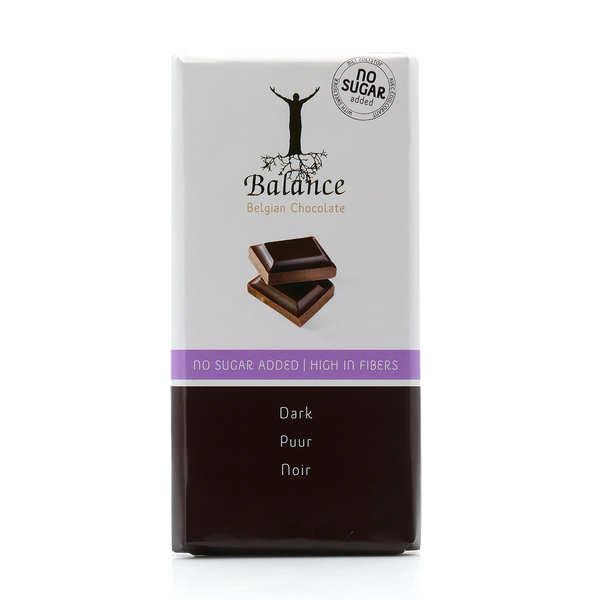 Balance Chocolat noir sans sucre au maltitol - 6 tablettes de 100g