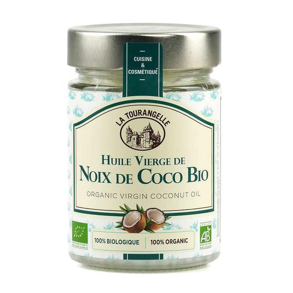 La Tourangelle Huile vierge de noix de coco bio - Bocal 314ml