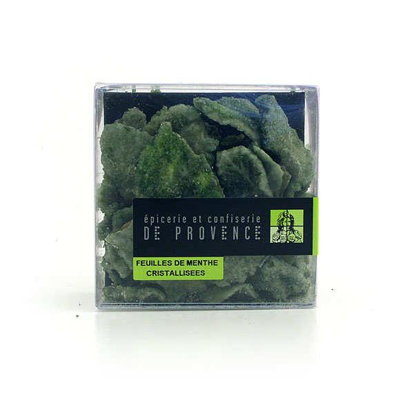Epicerie de Provence Feuilles de menthe cristallisées - l'étui de 75g