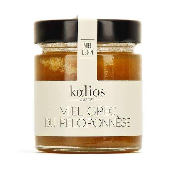 Kalios Miel de pin grec - Lot 3 bocaux de 250g