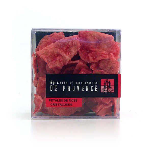 Epicerie de Provence Pétales de rose cristallisés - l'étui de 75g