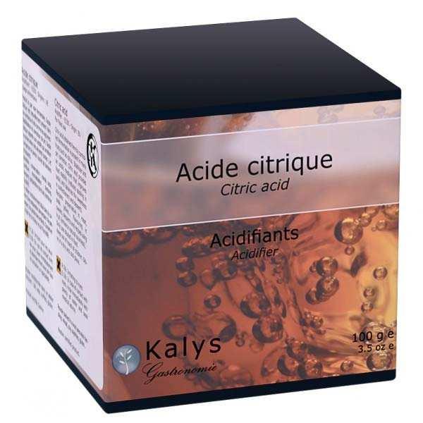 Kalys Gastronomie Acide citrique - Boite 100g