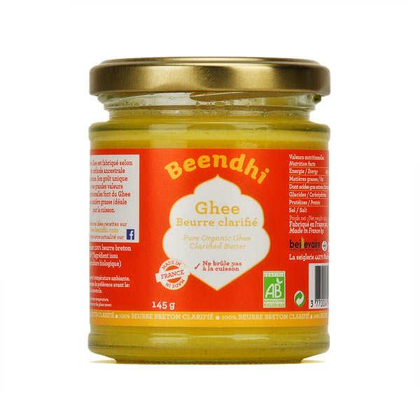 Beendhi Ghee bio - beurre clarifié à l'indienne - Pot 145g
