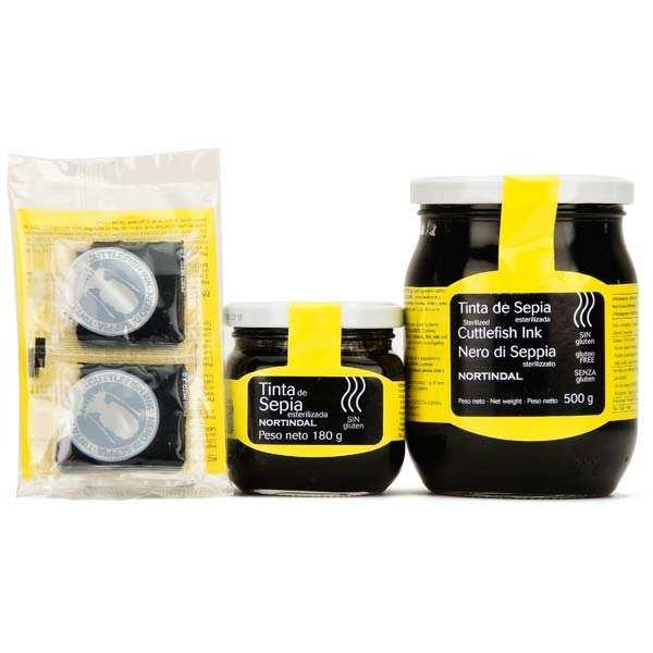 Nordintal Encre de seiche naturelle - 3 bocaux de 500g