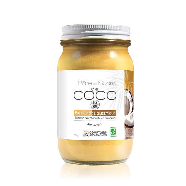 Comptoirs et Compagnies Pâte de sucre de coco biologique - Pot 270g