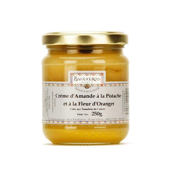 Bahadourian Crème d'amande à la pistache et fleur d'oranger - Pot 250g
