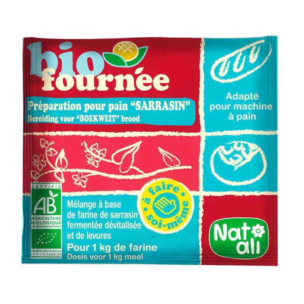 Nat-Ali Levain de sarrasin Biofournée - 24 sachets de 35g
