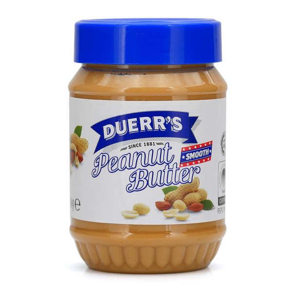 Duerr's Beurre de cacahuètes sans morceaux - Pot 340g