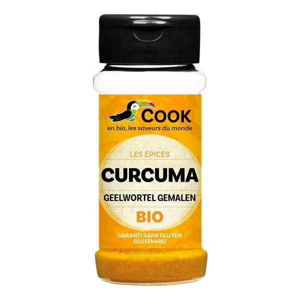 Cook - Herbier de France Curcuma bio - Lot de 4 sachets 500g