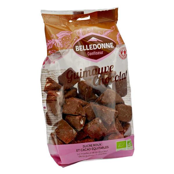 Belledonne Chocolatier Guimauves au chocolat format familial bio - Sachet 180g