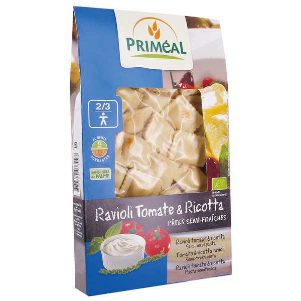 Priméal Raviolis tomate-fromage bio - Boite 250g