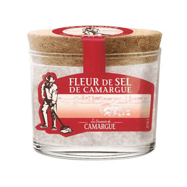 Les Saunier de Camargue Fleur de sel de Camargue - pot verre - Pot 150g