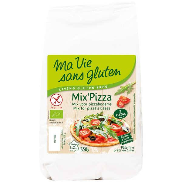 Ma vie sans gluten Mix' pizza bio sans gluten - Sachet 350g