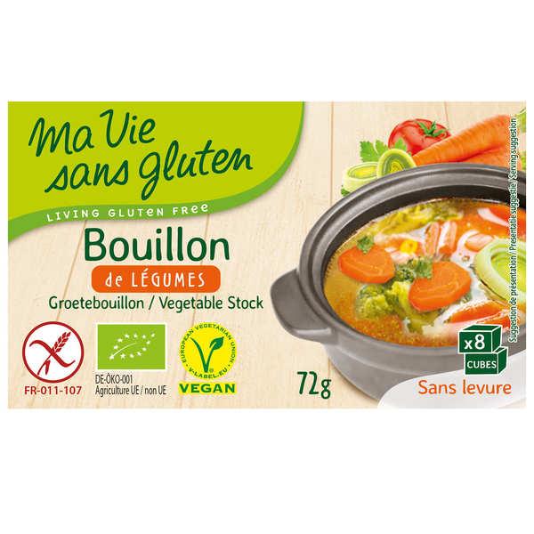 Priméal Bouillon de légumes bio et sans gluten - Boite 72g
