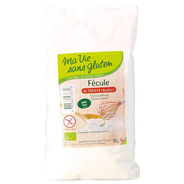 Ma vie sans gluten Fécule de tapioca bio (manioc) - 3 paquets de 500g