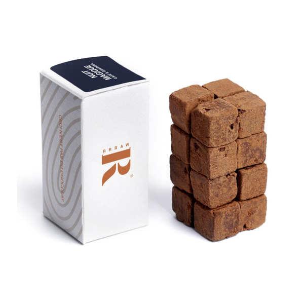 Rrraw Cubes de chocolat cru au café et au guarana - Etui 55g