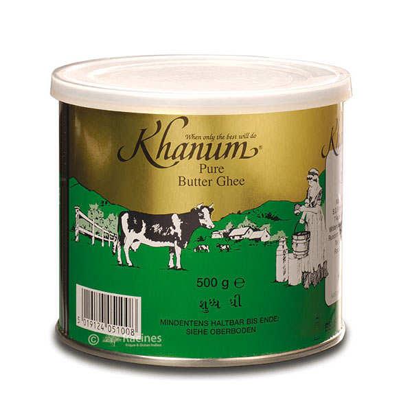 Khanum Ghee - Beurre clarifié prêt à l'emploi - Boite 500g