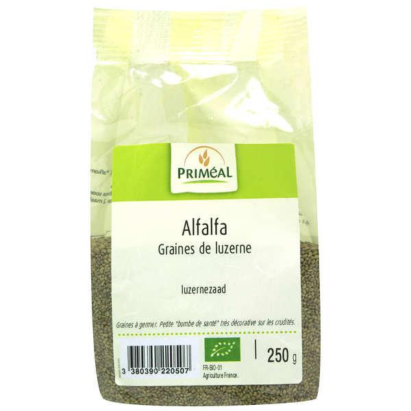Priméal Alfalfa - graines de luzerne à germer bio - Sachet 250g
